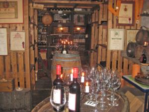 10-8 Weinprobe im Hotel