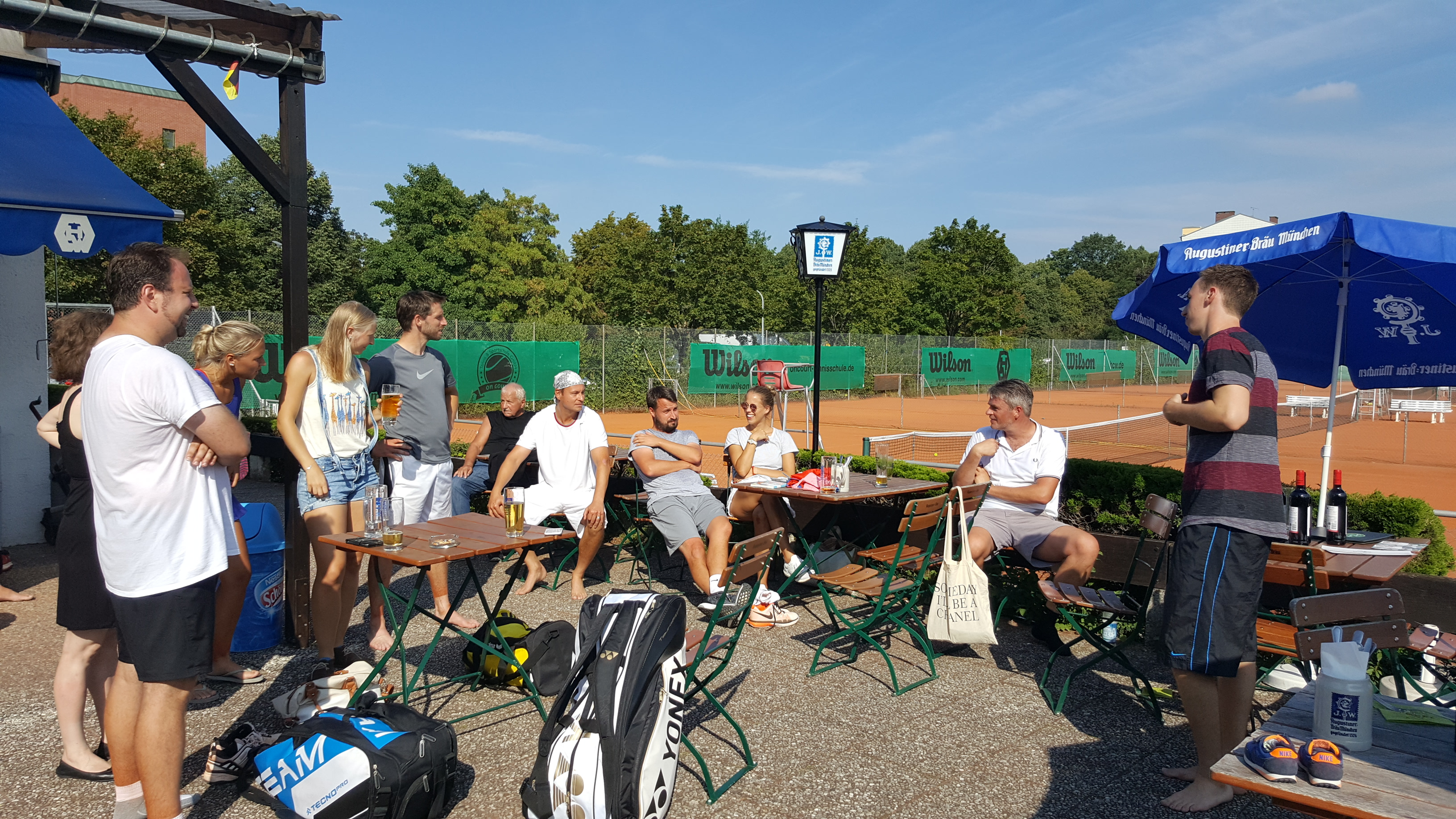 Tennis Clubmeisterschaften 2016