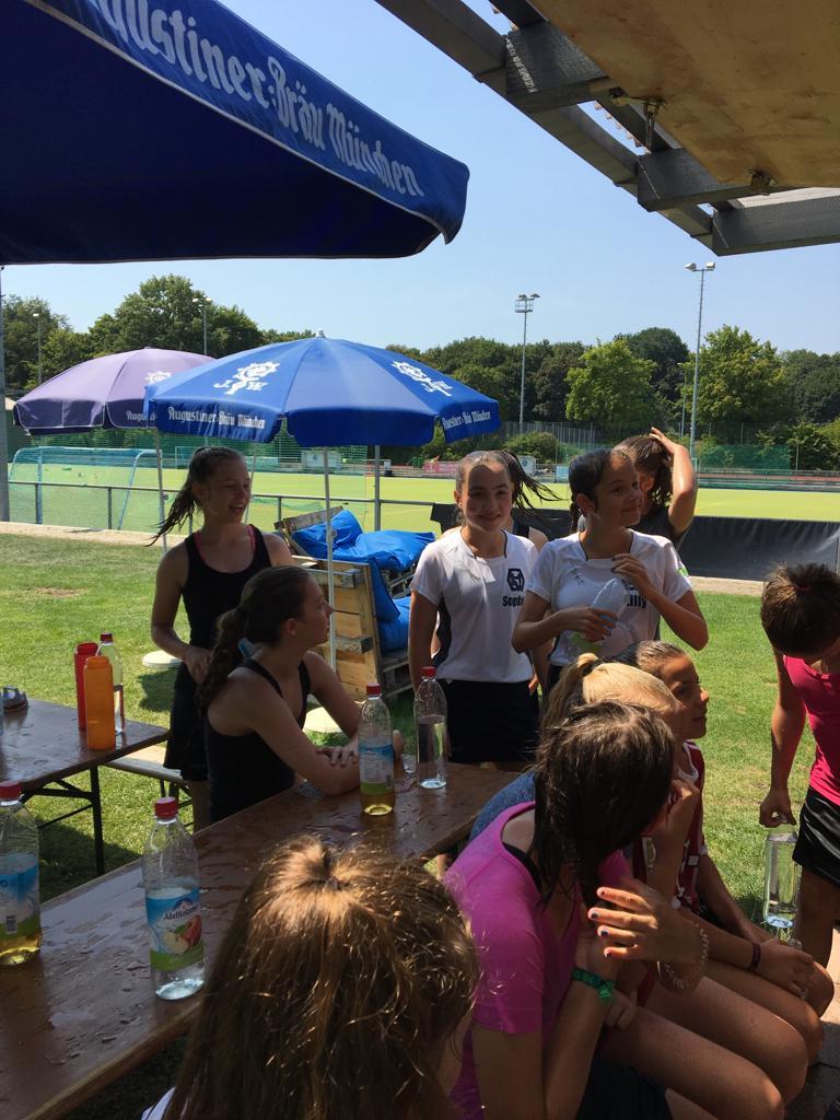 Hockey: Mädchen A Bericht Hockeycamp II vom 20.08.-22.08.2018